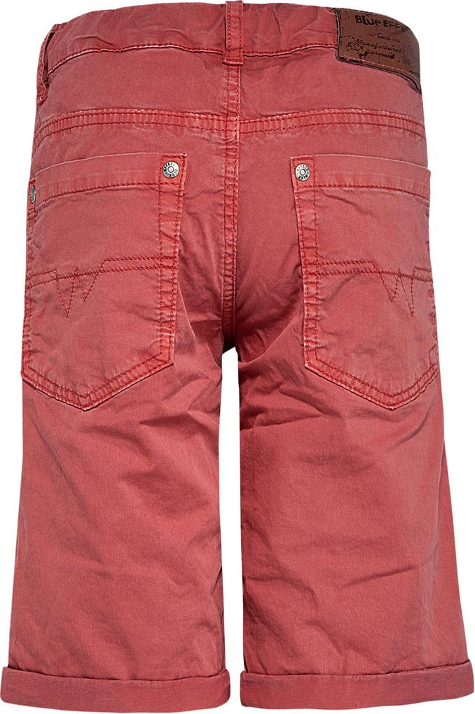 Blue Effect Jungen Bermuda Chino slim fit in mineralrot – Bild 2
