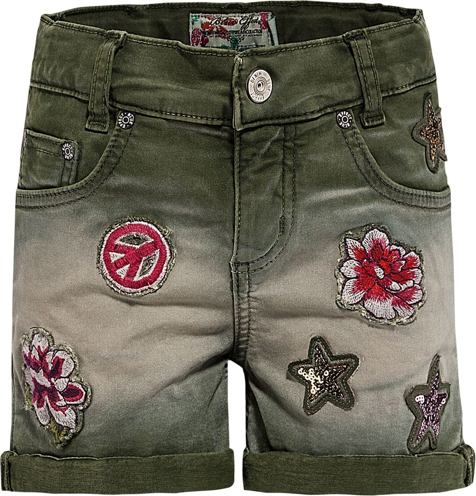 Blue Effect Mädchen Shorts mit Patches Bundweite normal – Bild 1