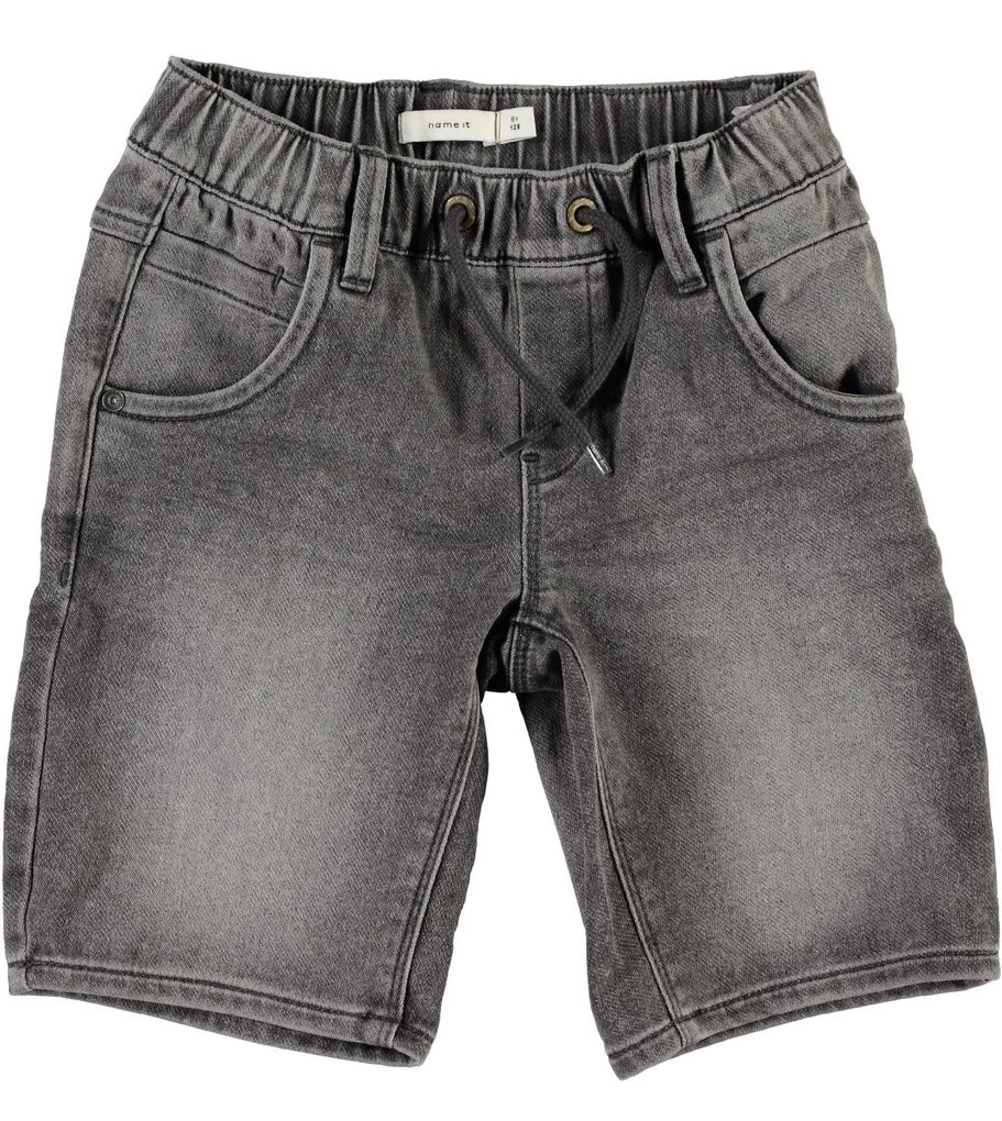 Name it Jungen Jeans-Bermuda Long Shorts NKMRyan grau
