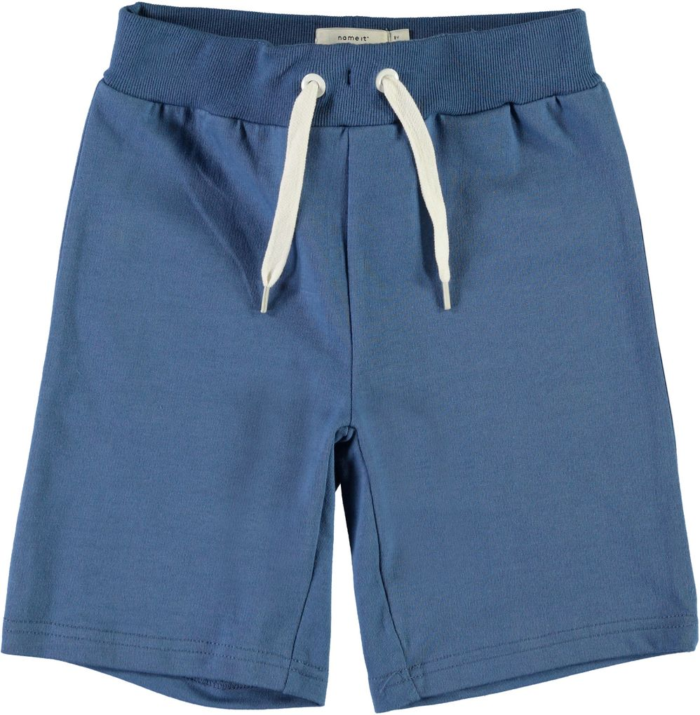 Name it Jungen Sweat Bermuda kurze Sporthose Long Shorts NKMVermond – Bild 1
