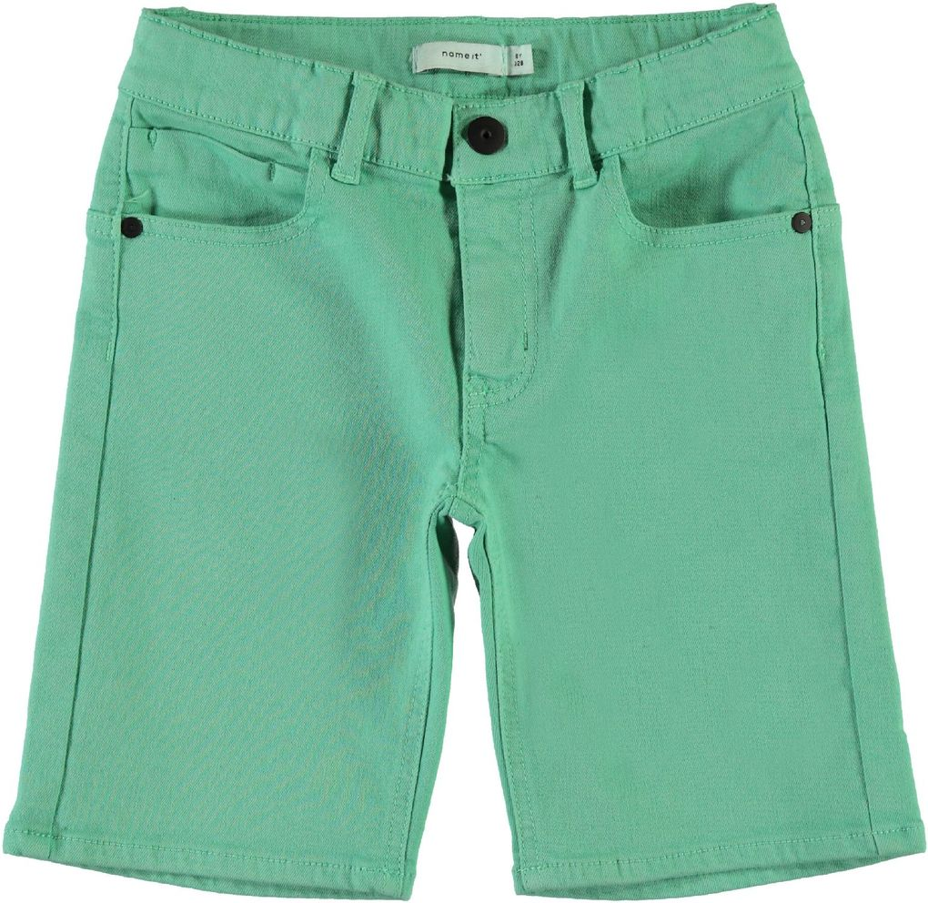 Name it Jungen Twill Bermuda Long Shorts kurze Hose NKMRYAN – Bild 1