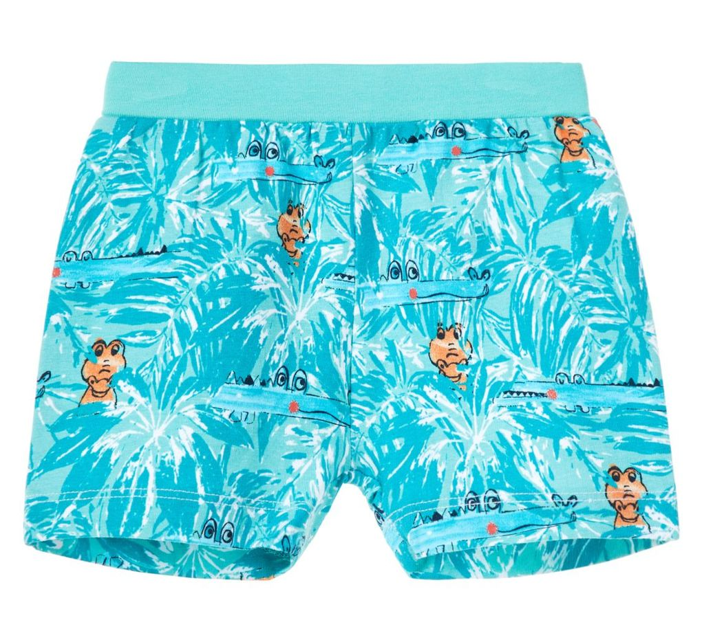 Name it Baby Jungen Jersey Shorts kurze Hose NBMDESKO in pool blue