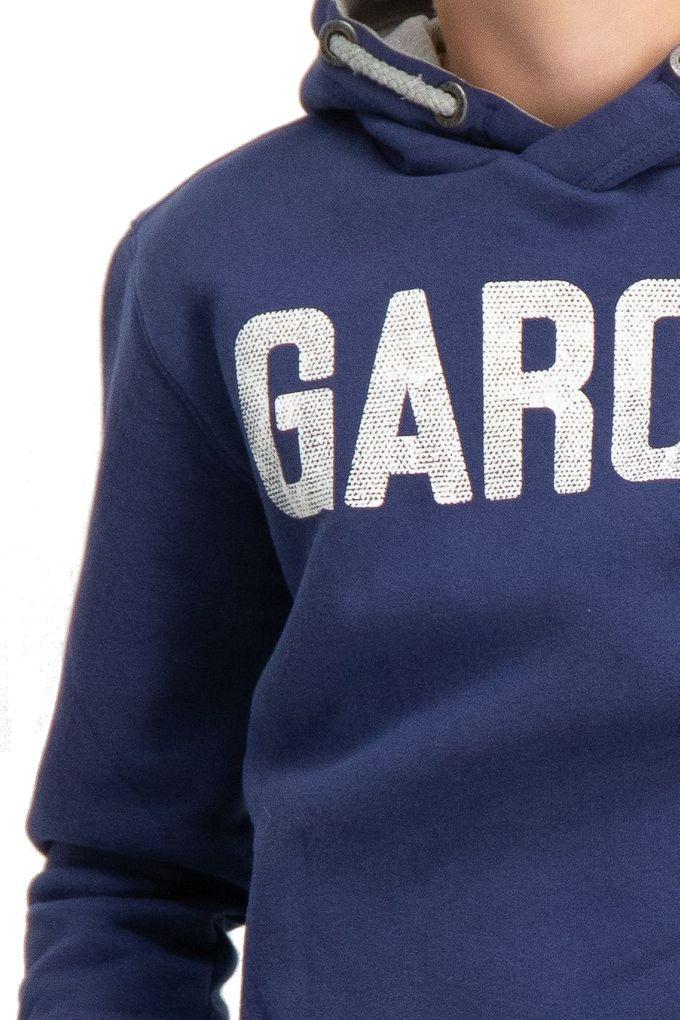 Garcia Jungen Hoodie Kapuzen-Sweatshirt angeraut in blau – Bild 3