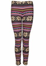 kuschelige Leggings mit Wintermotiven