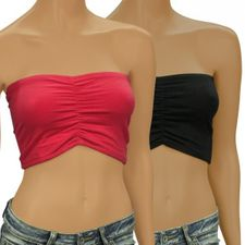 2er Set Tube Tops aus Bio-Baumwolle