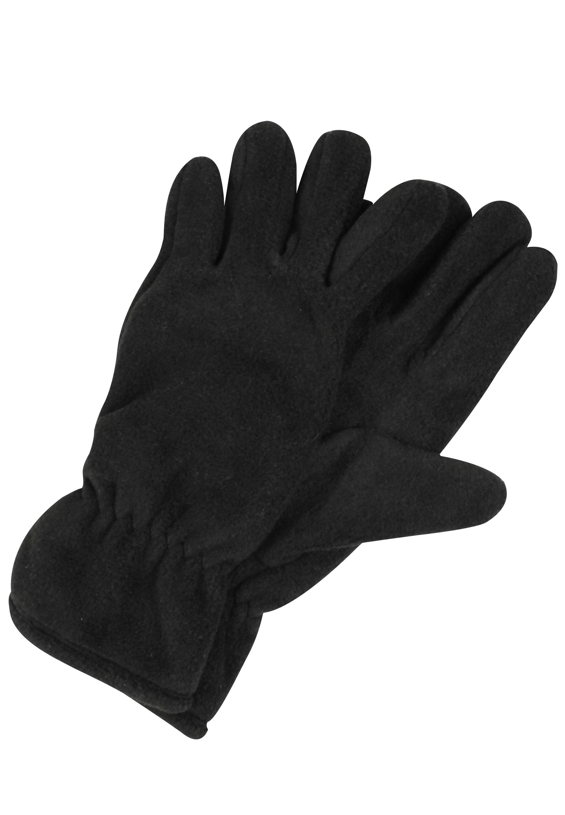 kuschelige Handschuhe mit elastischem Bündchen