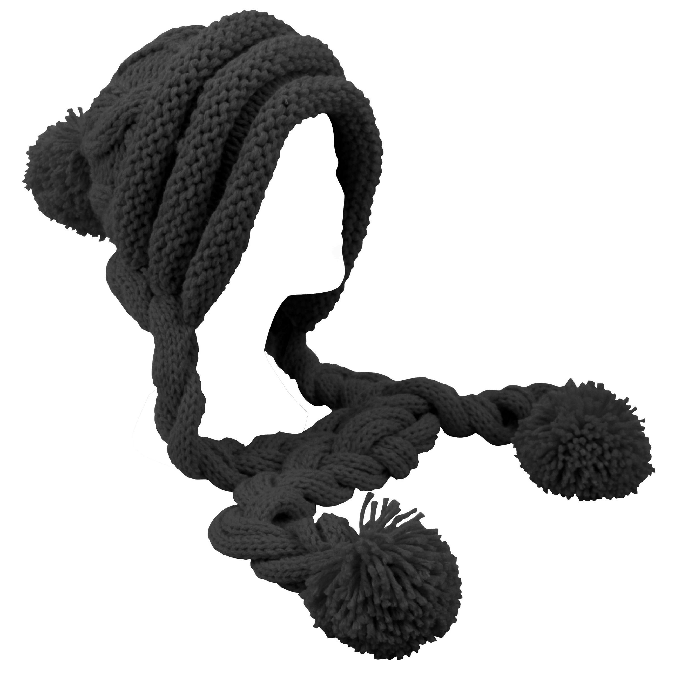 Mütze und Schal in Einem