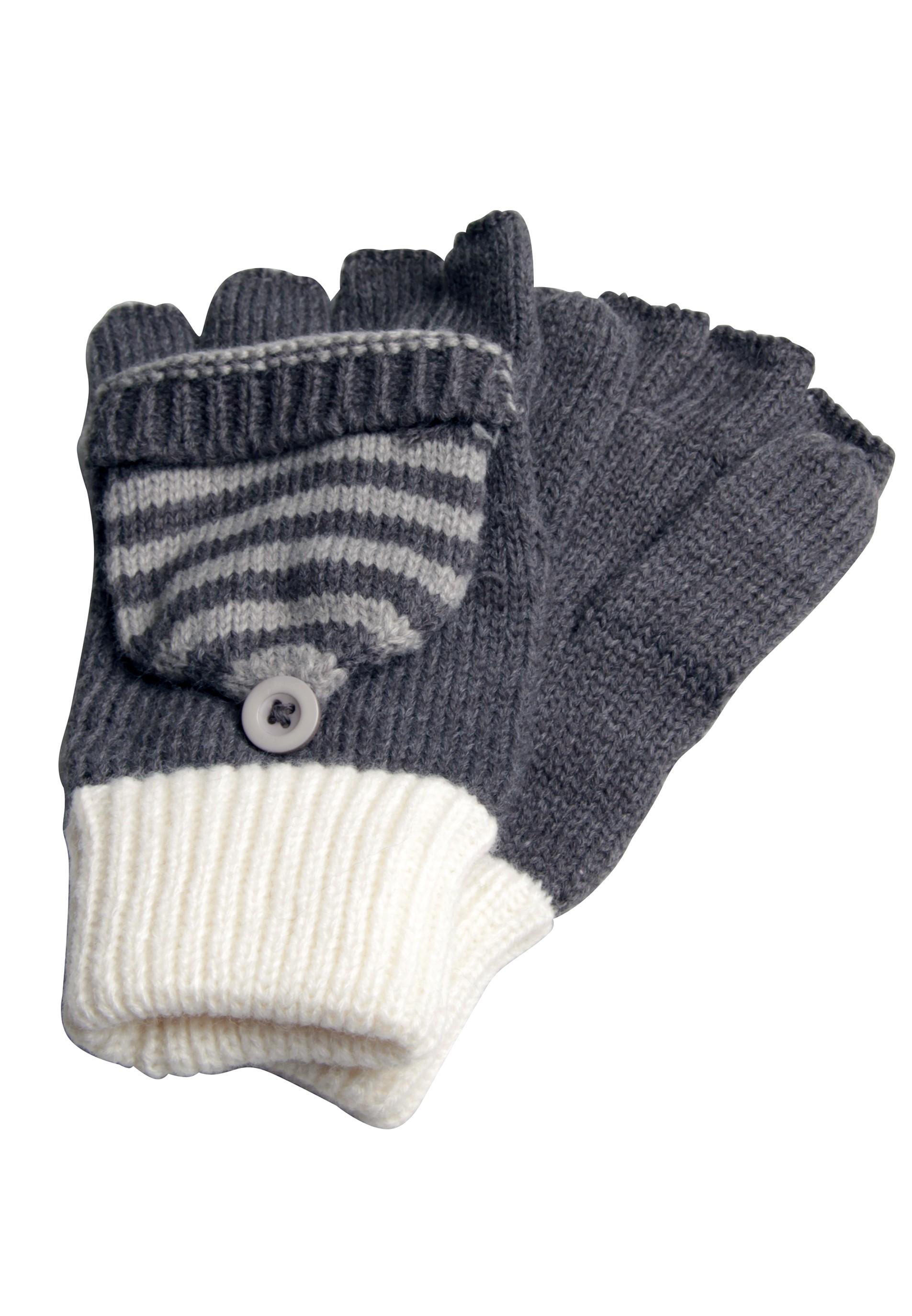 Kuscheliger Damenhandschuh mit Fäustlingsfunktion
