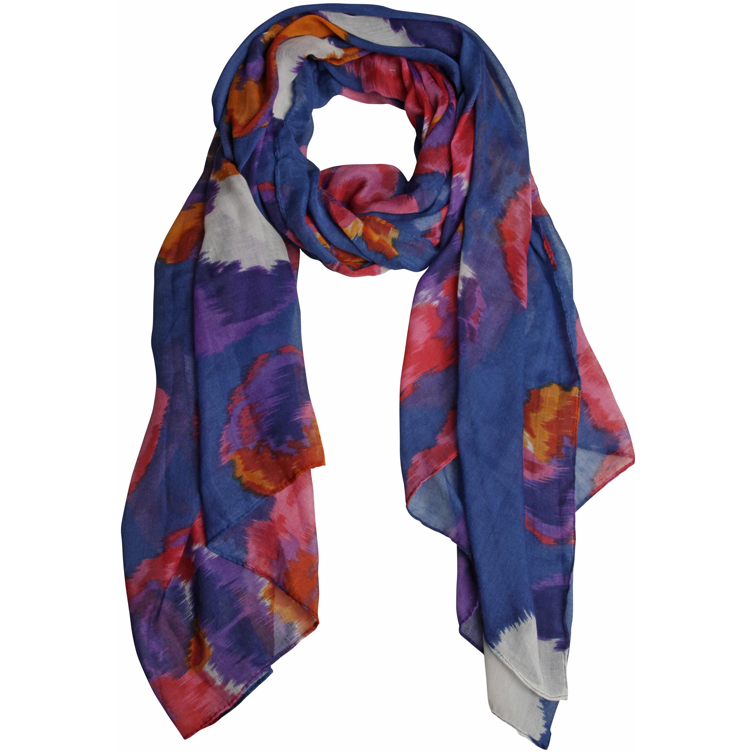 Trendy Damen Halstuch mit floralem Muster