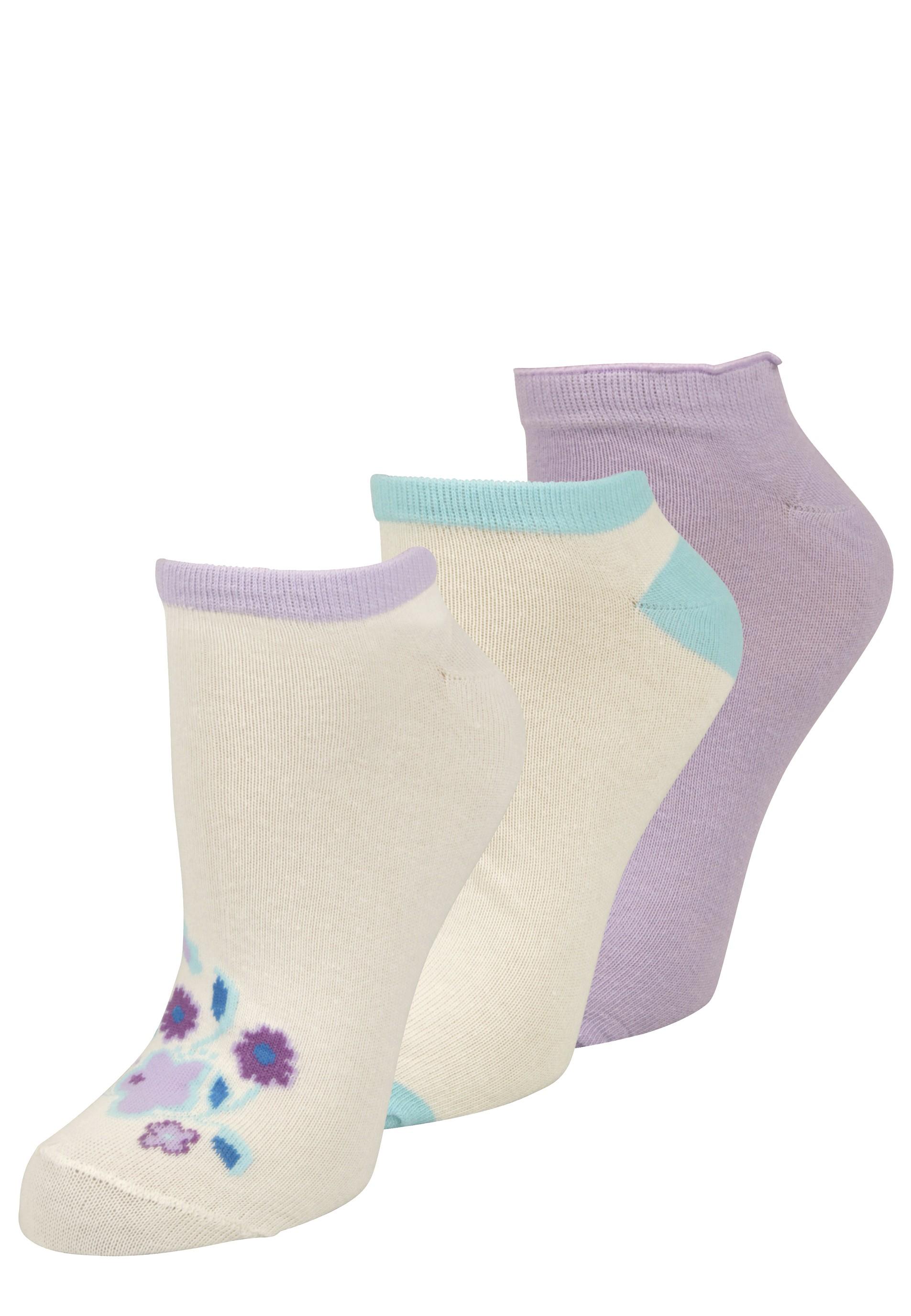 3er Set Sneaker Socken
