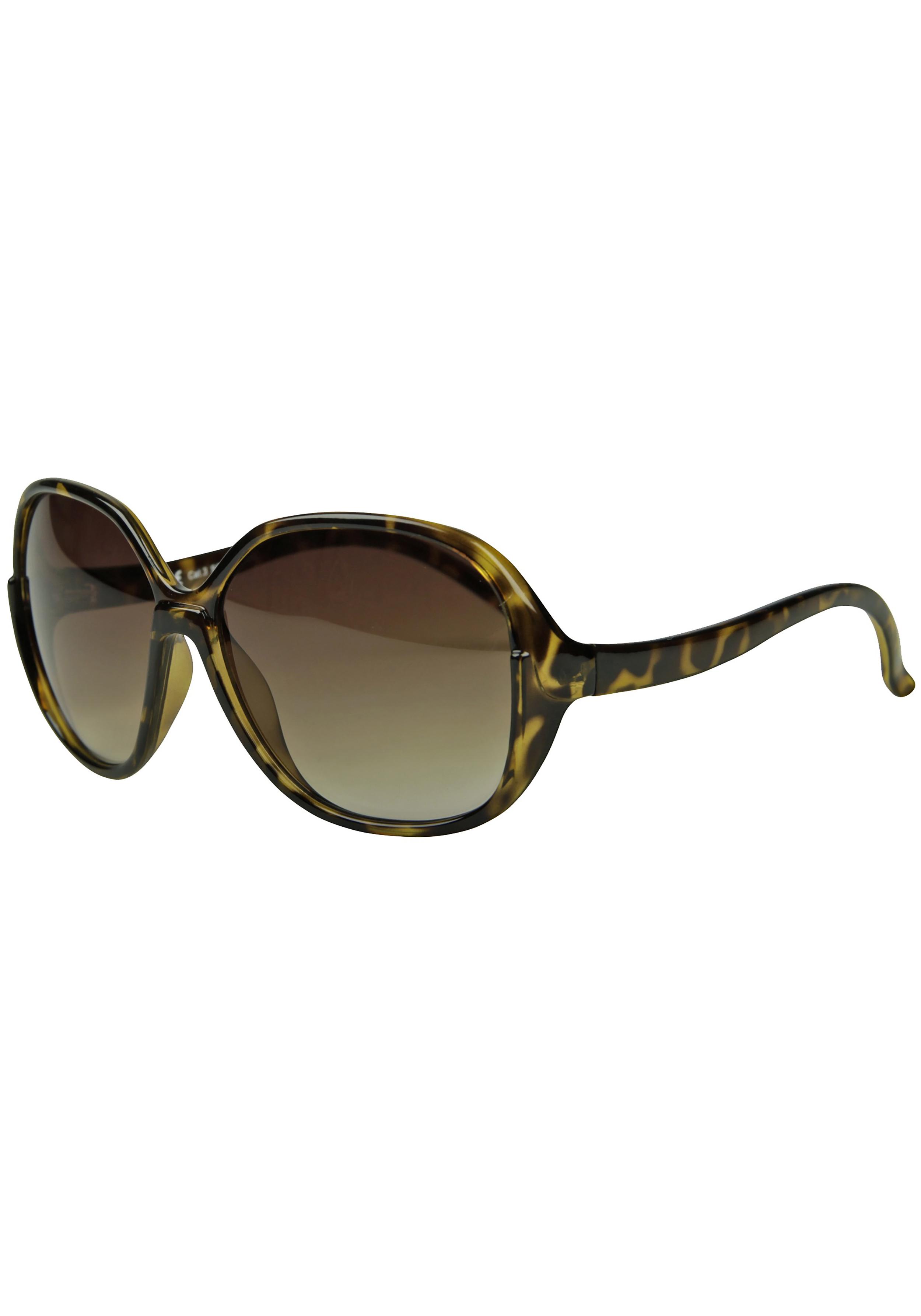 Große runde Sonnenbrille im Leodesign