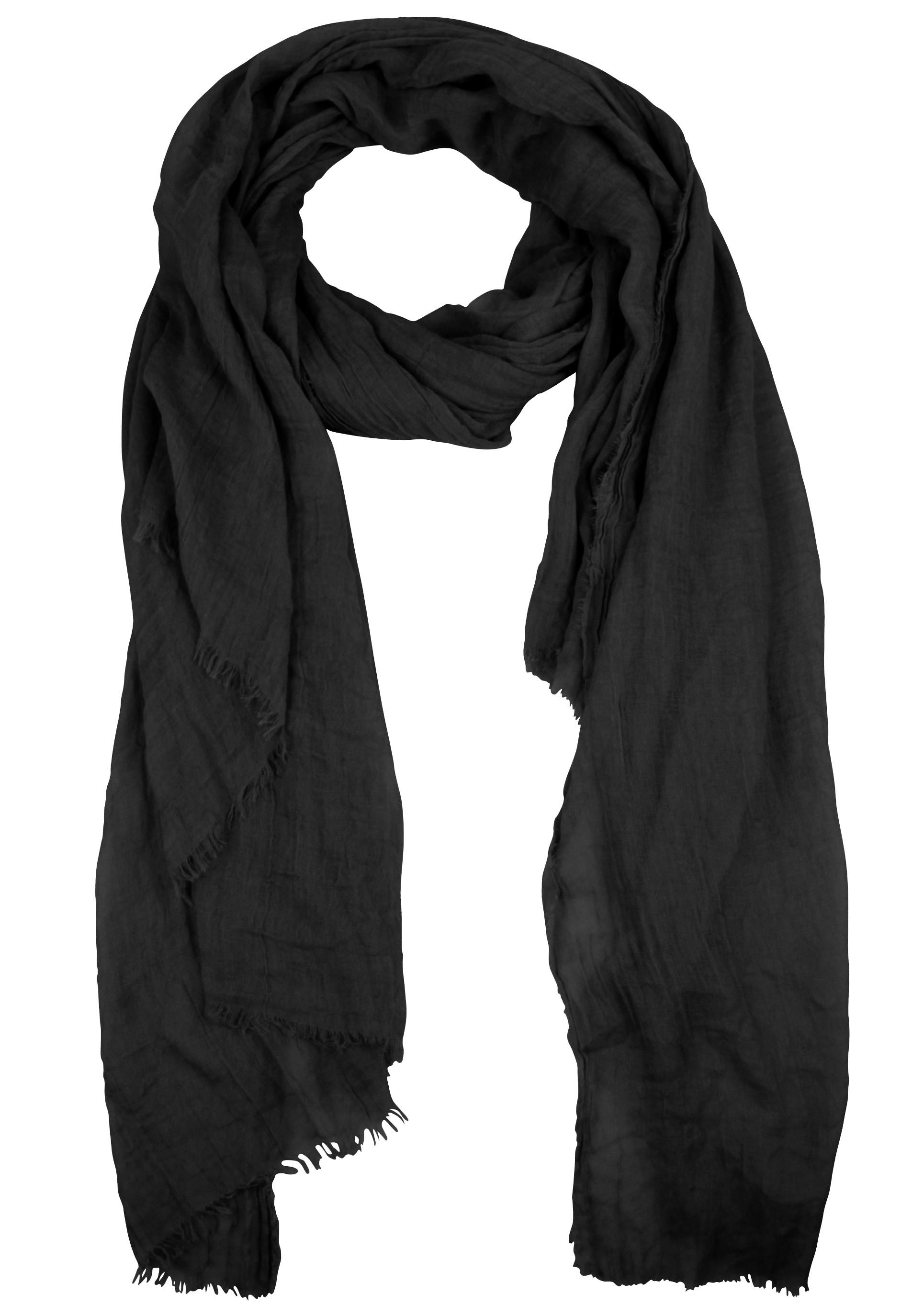Hochwertiger Schal aus einem Baumwoll-Mix