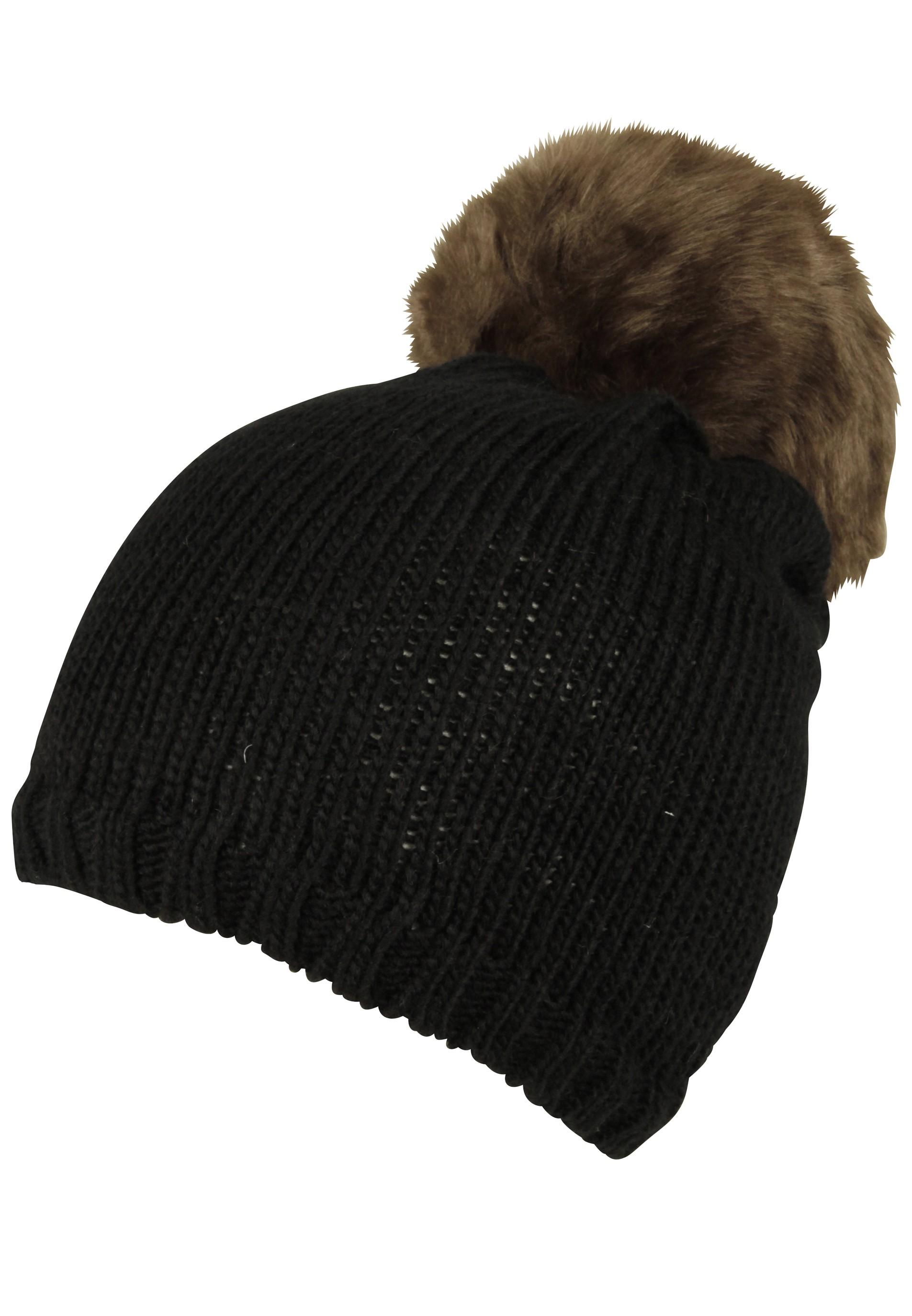 Wintermütze mit weichem Fellimitat