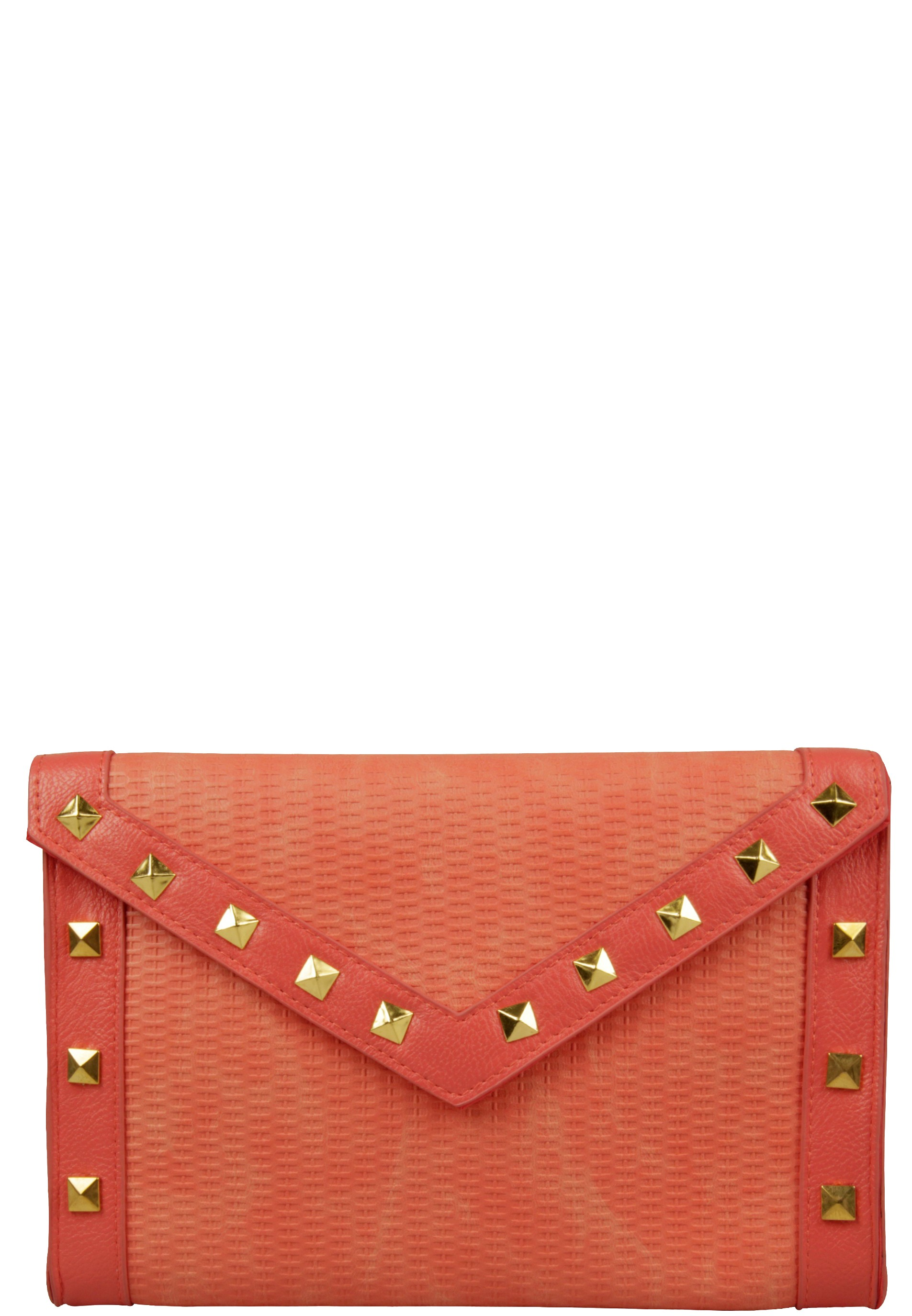 Trendy Clutch mit Nieten