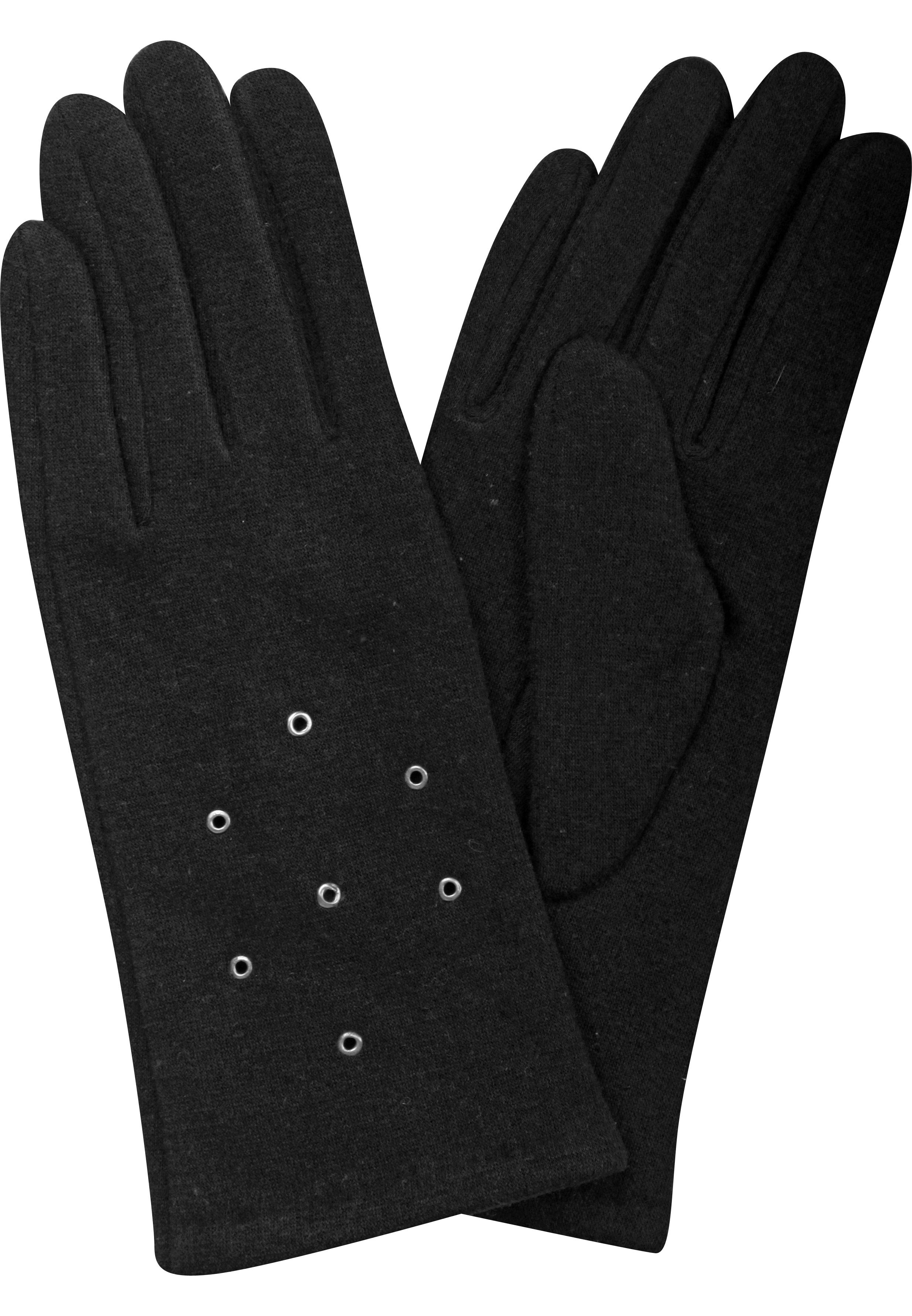 Jerey Handschuhe mit Nieten