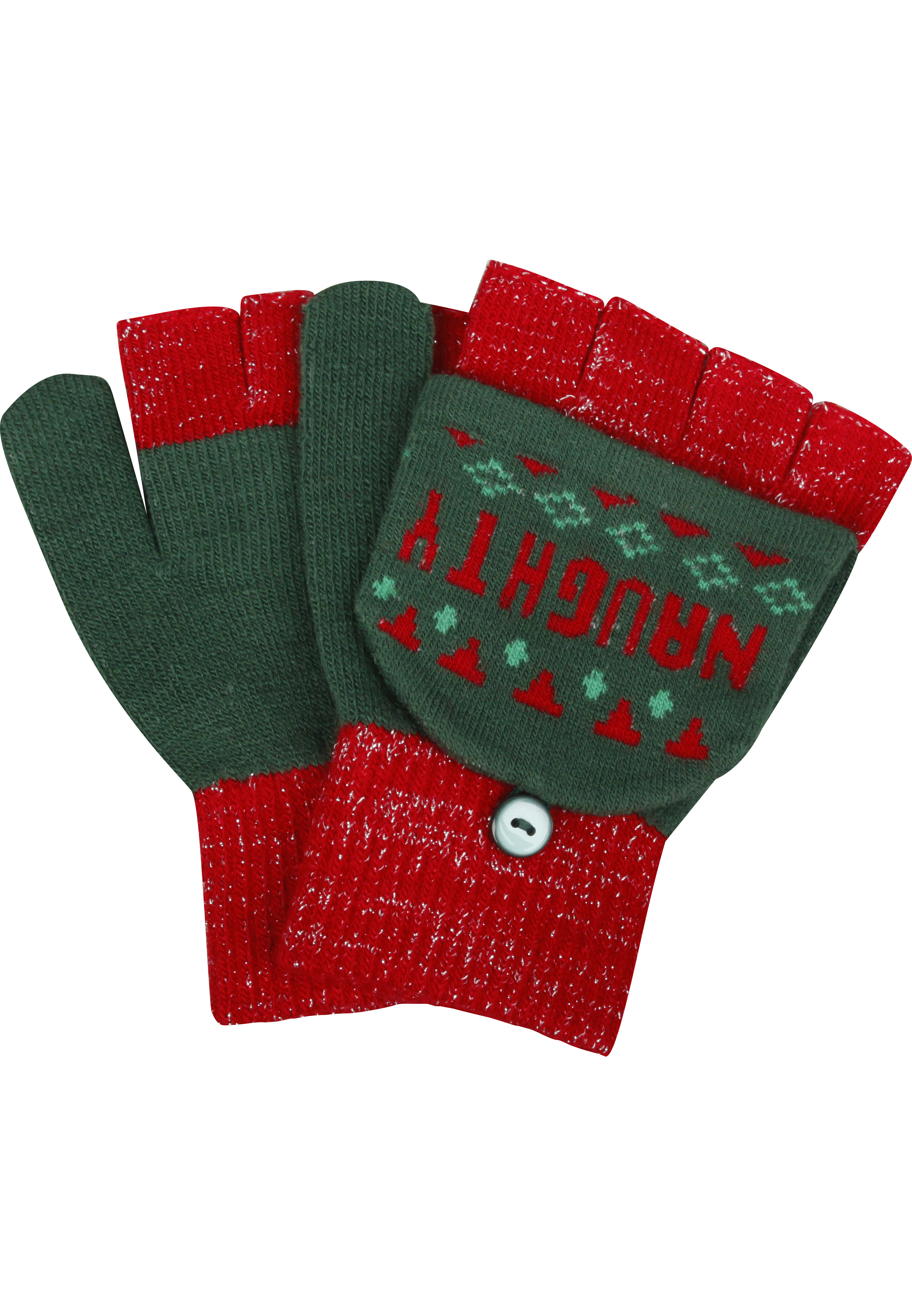 Flip Top Handschuhe 'Naughty & Nice'