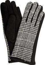 Jersey-Handschuhe mit Karomuster