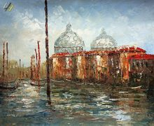 GRAND CANAL VENICE 24x36'  QUALITY OIL PAINTING B23240 001