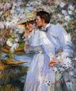 "JAMES JEBUSA SHANNON IN THE SPRING TIME 20X24"" MUSEUM QUALITY OIL REPRO – image 2"