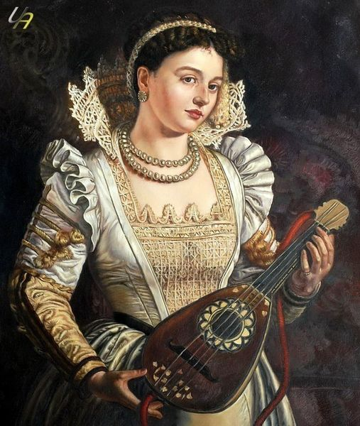 WILLIAM HOLMAN HUNT BIANCA 50x60 cm ÖLGEMÄLDE