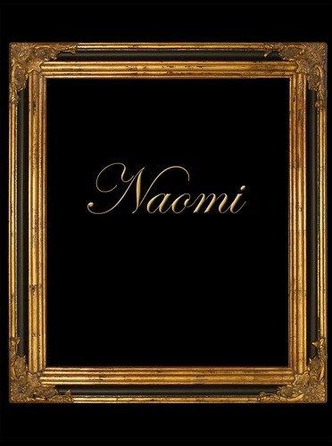 "3"" GOLD BLACK ORNATE DECORATIVE (SWEPT) FRAME ""NAOMI"""