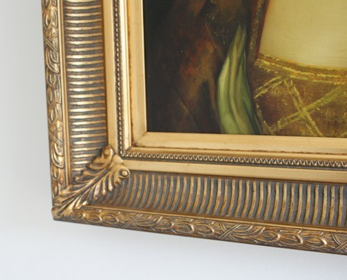 "5"" GOLD FLUTED DECORATIVE (SWEPT) FRAME ""ZORA""  – image 3"