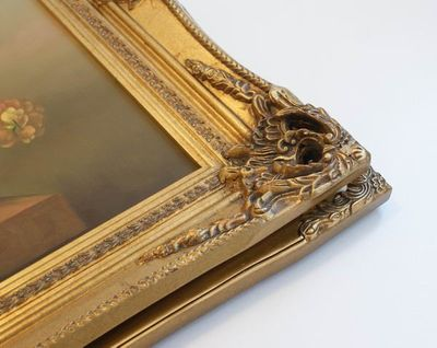 "5"" DOUBLE BARRELLED ANTIQUE GOLD (SWEPT) FRAME ""MYRA""  – image 7"