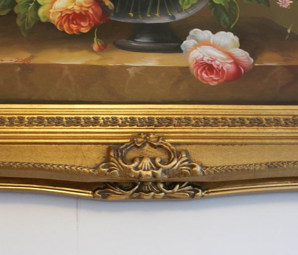 "5"" DOUBLE BARRELLED ANTIQUE GOLD (SWEPT) FRAME ""MYRA""  – image 6"
