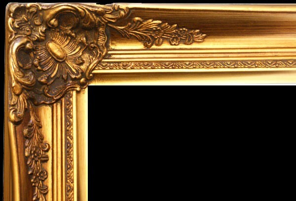 "3"" ANTIQUE GOLD (SWEPT) FRAME ""BUENA""  – image 2"