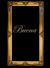"3"" ANTIQUE GOLD (SWEPT) FRAME ""BUENA"""