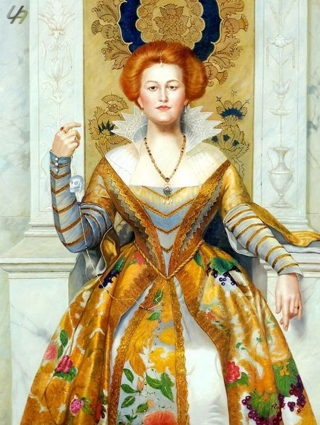 "JOHN COLLIER THE WHITE DEVIL 36X48"" OIL PAINTING HANDMADE MUSEUM QUALITY"