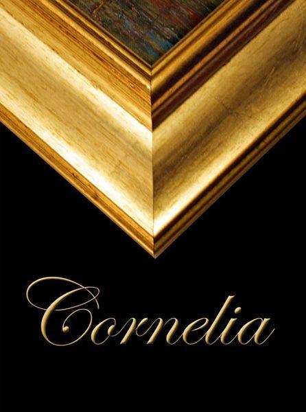 Dekorativer Gold Rahmen CORNELIA
