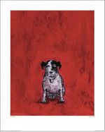 SAM TOFT -  SMALL DOG Artprint 40x50cm 001