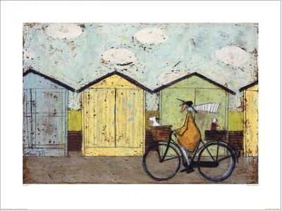 SAM TOFT -  OFF FOR A BREAKFAST Artprint 60x80cm