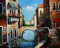 "GRAND CANAL - VENICE 16X20 "" ORIGINAL OIL PAINTING – image 2"