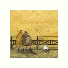 SAM TOFT A ROMANTIC INTERLUDE Mounted Print 30x30cm 001