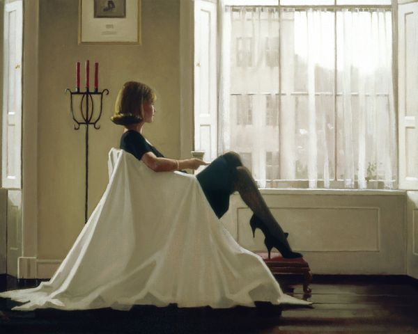 """Jack Vettriano """"In Thoughts of You""""  60x80 Art Print"""