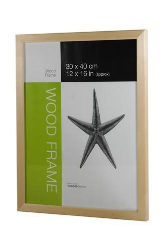 Starfish Naturals Solid Birch 30x40 cm Frame – image 1