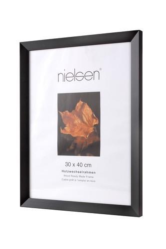 Nielsen Essentielles Black Wooden Picture Frame 30x30 cm