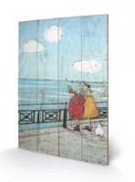 SAM TOFT HER FAVOURITE CLOUD - Print on Wood 001