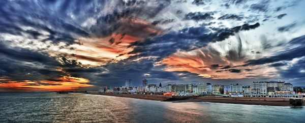 Brighton Seafront HDR