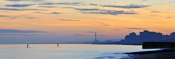 Paddling Peacefull, Hove - Fineart Photography by David Freeman