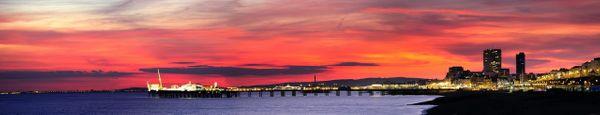 Brighton City Skyline - Fineart Photography by David Freeman