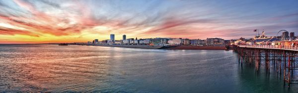 Brighton Seafront Sunset Part 1 - Fineart Photography by David Freeman
