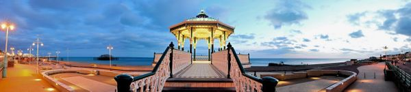 Brighton Bandstand - Fineart Photography by David Freeman