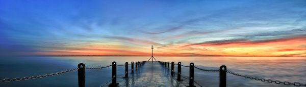 Winter Sunset, Hove - Fineart Photography by David Freeman