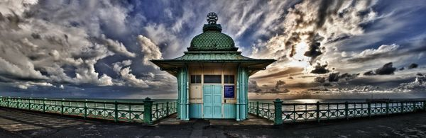 Old Lift in Kemptown Brighton - Fineart Photography by David Freeman