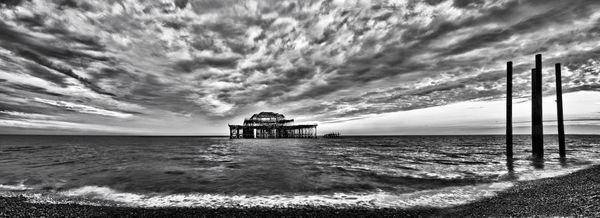West Pier HDR - Fineart Photography by David Freeman