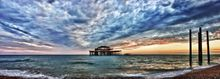 West Pier H Sunset - Fineart Photography by David Freeman 001