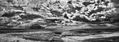 Summer Clouds and The Pier - Fineart Photography by David Freeman